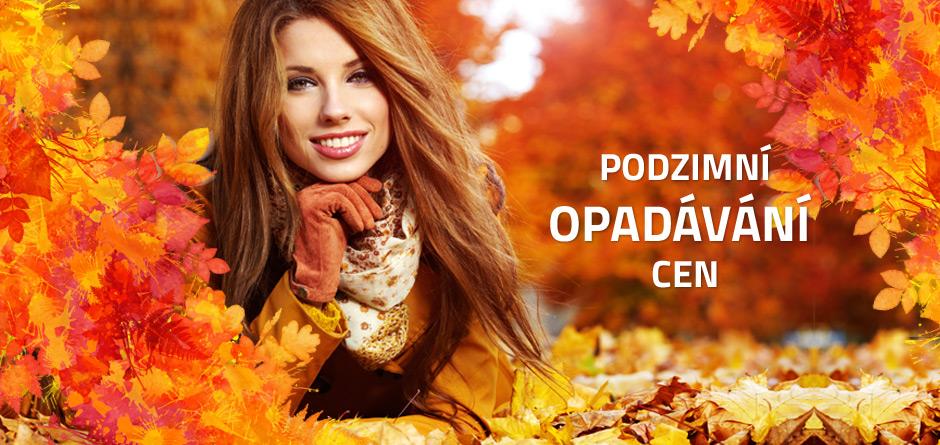 podzimní opadávání cen